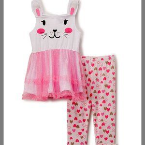 COPY - NEW BABY GIRL BUNNY OUTFIT EASTER